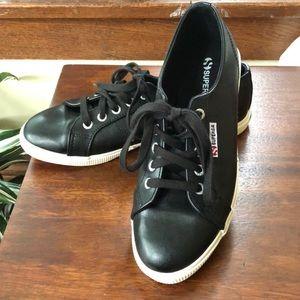 Black Leather Supergas 8.5